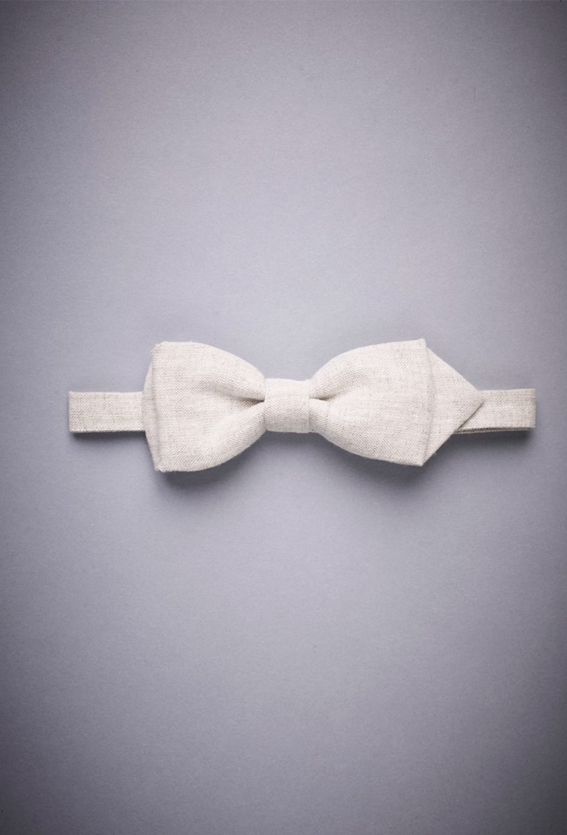 Bow Tie Natural-Linen